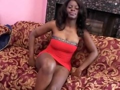 Hairy Ebony Slut Cookie Gets Fucked Hard jointly with Then Facialized