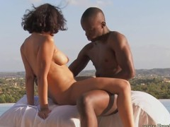Exotic Ebony MILF and Her African Paramour